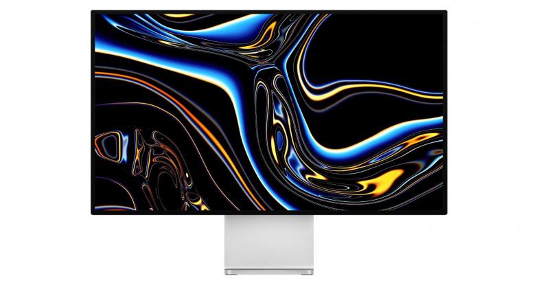 各界傳聞,新的iMac外型將與Pro Display XDR顯示器(如圖)相似。(圖/翻攝自Apple)