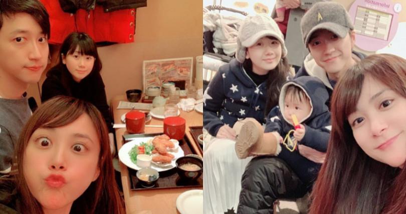 江恆亘與江宏傑夫妻倆感情非常好,經常一起聚餐。(圖/翻攝自IG @liga0601)