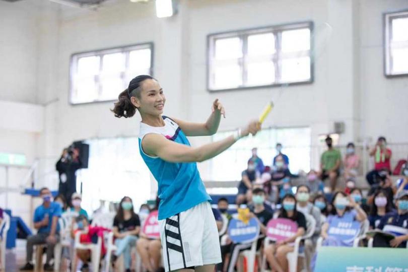 戴資穎拿下台灣奧運女單史上第一面銀牌。(圖/翻攝自戴資穎臉書)