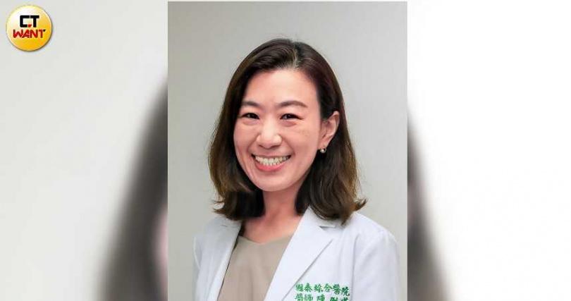 國泰醫院婦產科醫師陳俐瑾說,從小女孩到八○、九○歲的老太太都可能罹患陰道炎,沒有年齡之分。(圖/馬景平攝)