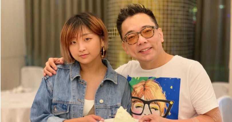 詹惟中(右)和女兒詹可安感情非常好。(圖/翻攝自詹惟中臉書)