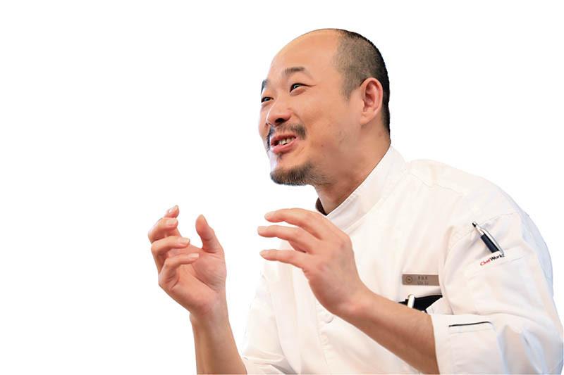 EQ高、人緣好的李佳其,是中生代廚師的佼佼者。(圖/李佳其提供)