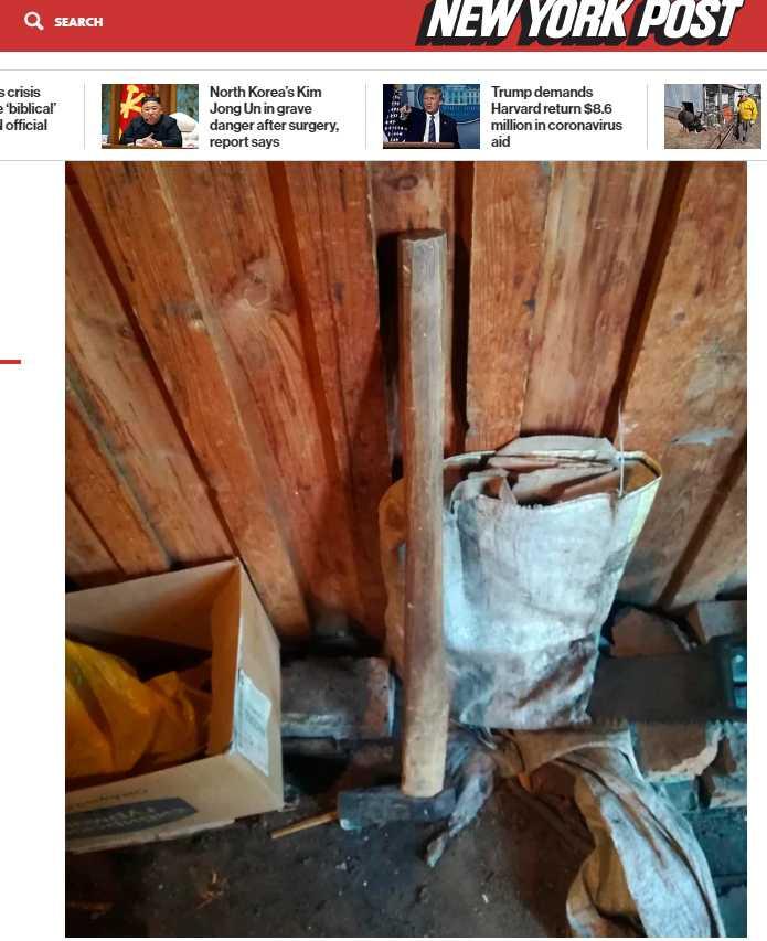 維克多坦承自己殺了這些人,並且使用斧頭作為肢解工具。(圖/New York Post)