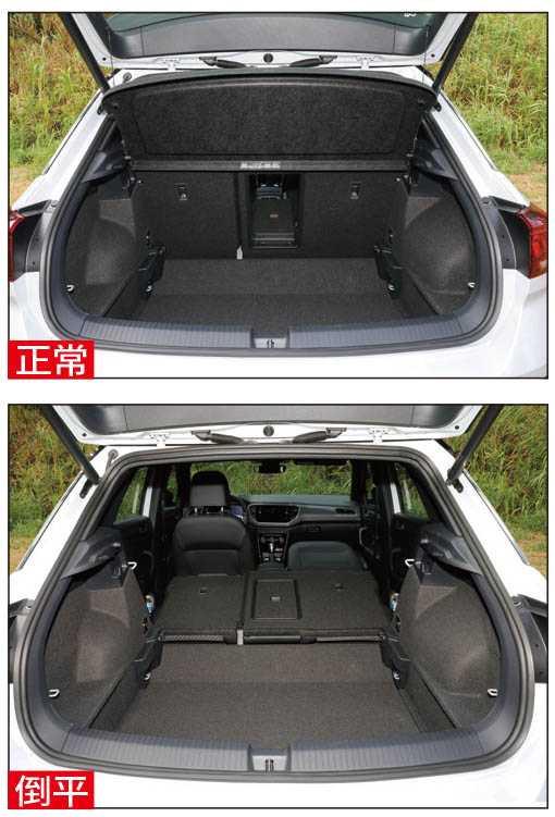 正常行李廂空間為445公升,後座倒平後更提升為一二九○公升。(圖/王永泰攝)