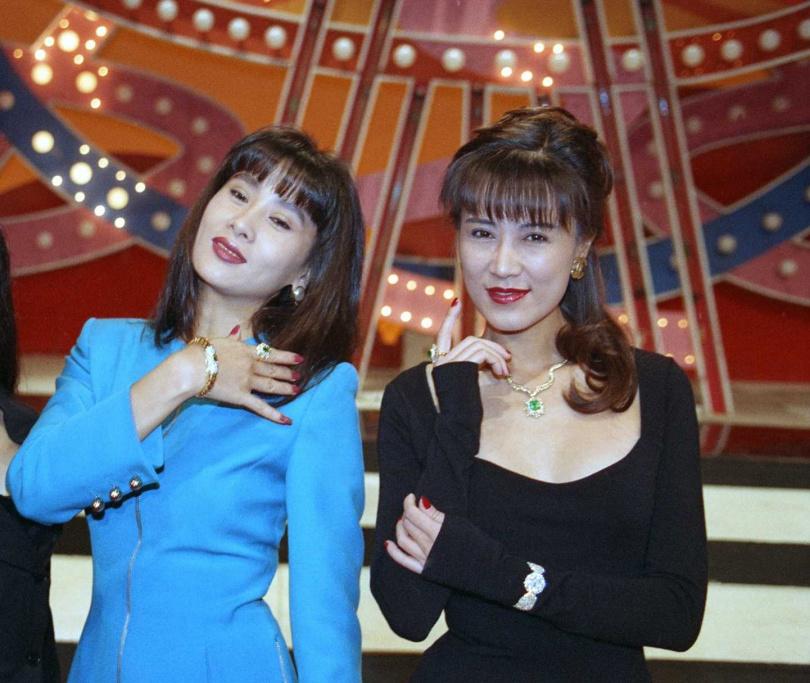 于楓(左)、羅霈穎(右)。(圖/報系資料照)