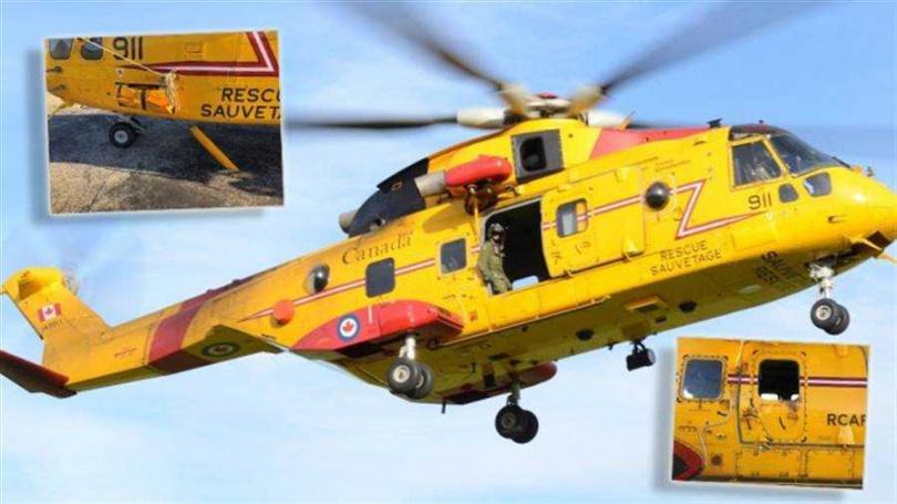加拿大CH-149「鸕鶿 」直升機。(圖/翻攝自The Aviationist)