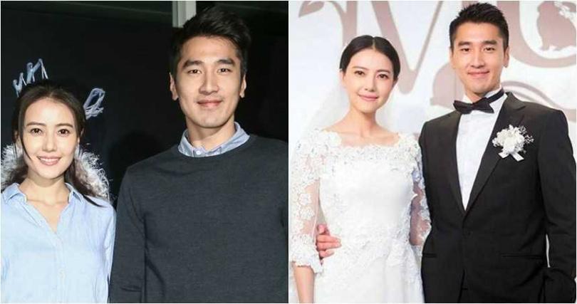 趙又廷和高圓圓結婚後感情依舊甜蜜。(圖/報系資料照,翻攝微博)