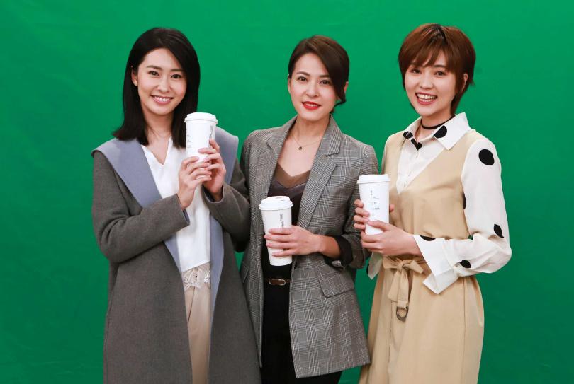 蘇晏霈、瑭霏以及張郁婕為公益拍影片,當天「好朋友」零距離。