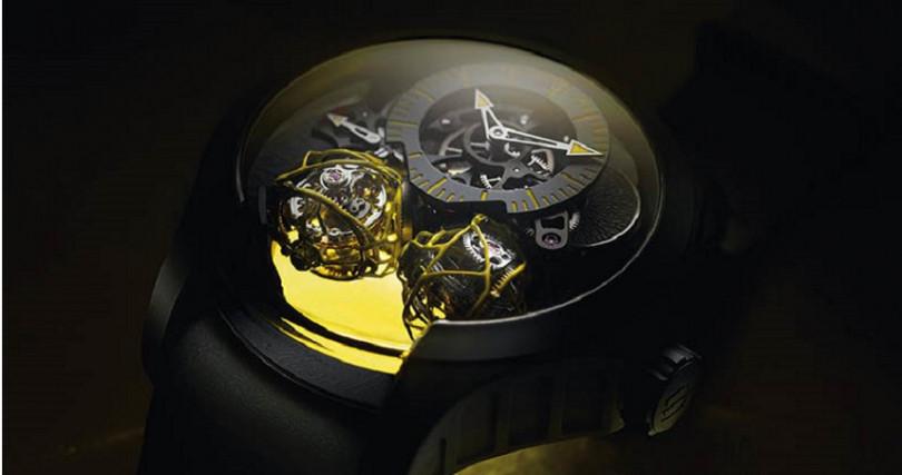 Cecil Purnell Escape Double Spherion,定價15,200,000元。(圖/葳鑠提供)