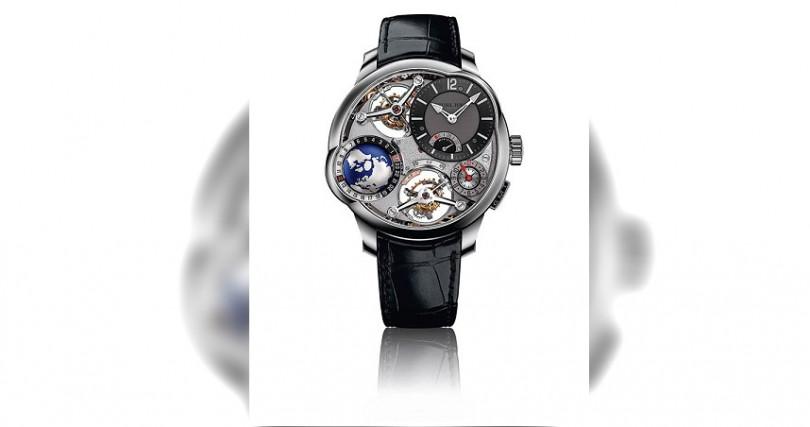Greubel Forsey GMT Quadruple Tourbillon,定價28,000,000元。(圖/葳鑠提供)