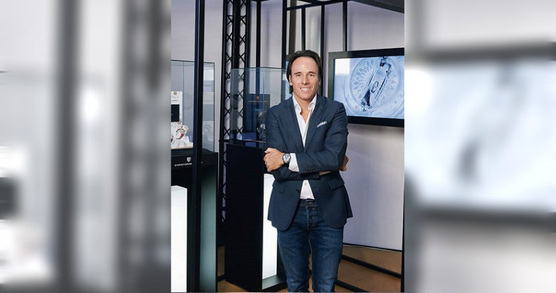Christophe Claret國際商業總監Nicolas Gigaud。(圖/葳鑠提供)