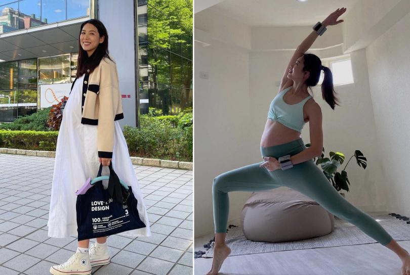 林可彤目前懷孕9個月。(圖/翻攝自林可彤 Hope Lin臉書)