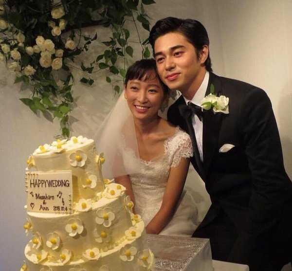 杏和東出昌大在2015年結婚。(圖/翻攝IG)