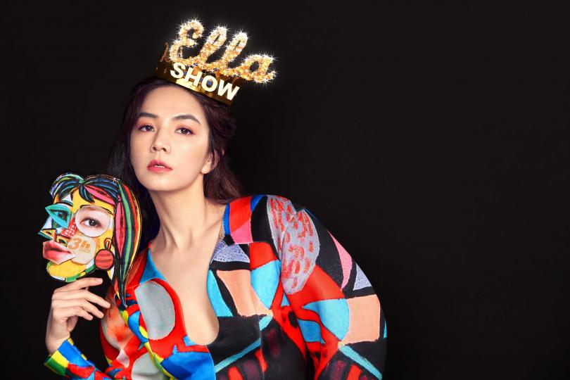 Ella將推出全新同名EP,首波主打〈人生不能沒副歌〉已數位發行。(圖/勁樺娛樂提供)