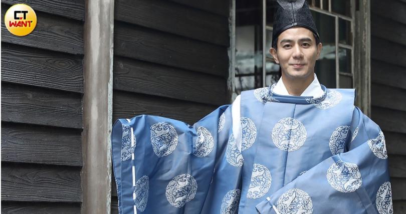 郭彥均曾受邀參加浙江衛視節目。(圖/彭子桓攝)