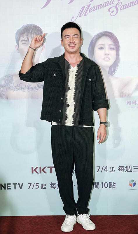 李沛旭曾在施柏宇遠赴北京拍戲時對他照顧有加,被他視為啟蒙老師。(圖/報系資料照)