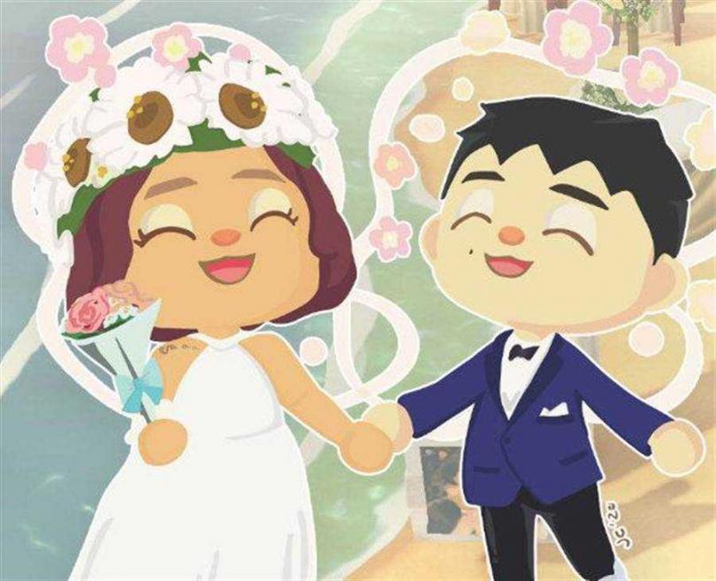 何維健28日偕新婚妻舉辦線上婚禮。(圖/CROSS RATIO ENTERTAINMENT提供)