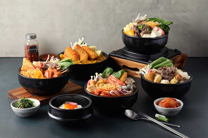 個人湯定食共有8種特製湯頭。(圖/Global Mall提供)
