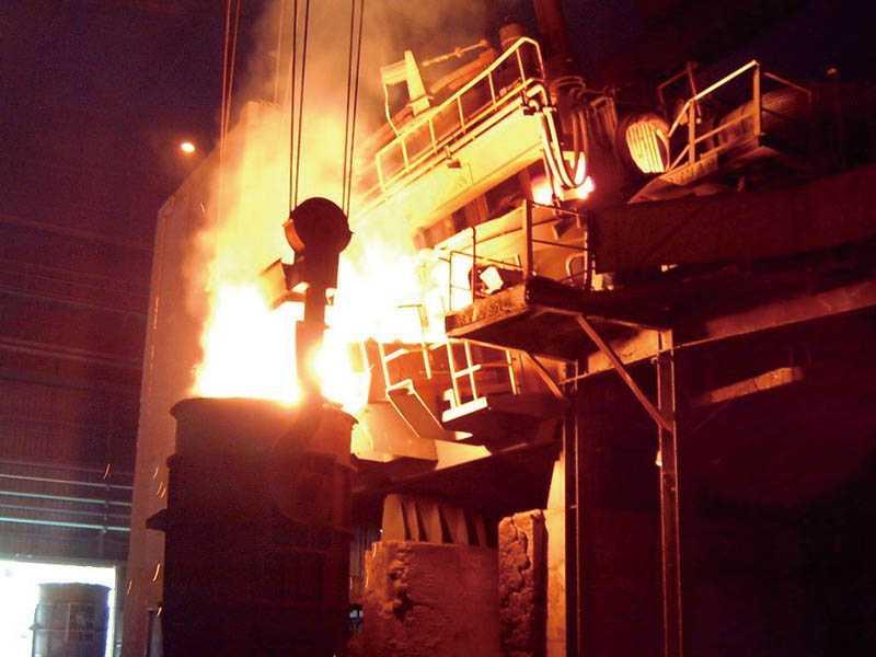 榮剛擁有生產特殊鋼的電爐一貫廠,全球精煉能量排名第十二位,具有主導市場價格的影響力。(圖/榮剛提供)