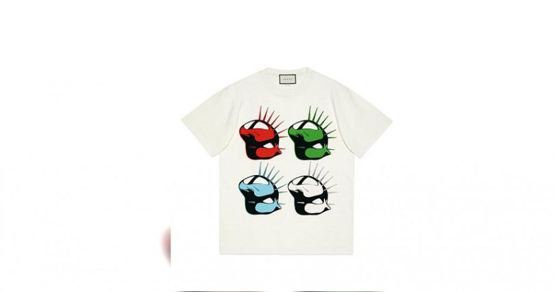 GucciManifesto白色女裝T恤/20,500元