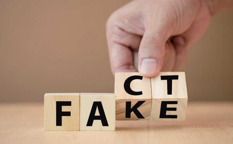 對於美方提出諸多事項,華為也以FACT(事實)或FAKE(虛假)文宣透過各種管道說明。(圖/翻攝自華為)