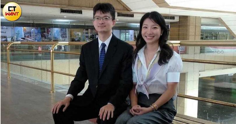 日月光集團第三代、鼎固-KY總經理張能耀與夫人王鏘嵐,不僅是人生伴侶,更是事業上的得力夥伴。(圖/林榮芳攝)