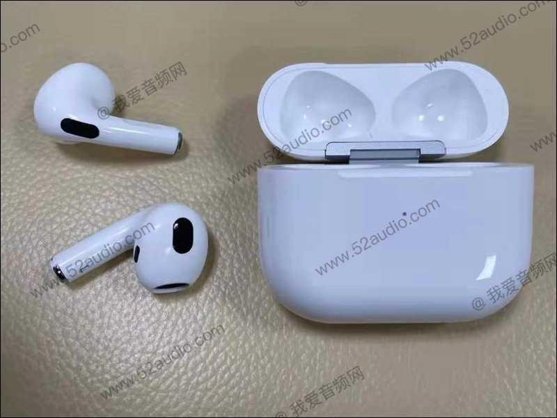 AirPods 3外型上與AirPods Pro僅差在入耳式矽膠,但取消ANC主動降噪功能。(圖/翻攝自我愛音頻網)