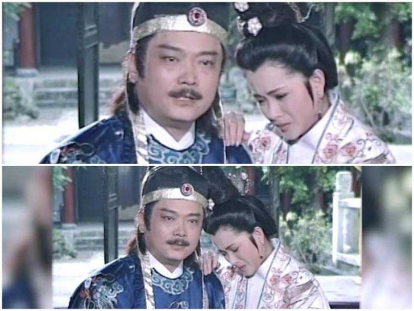 邱于庭在《包青天之鴛鴦蝴蝶夢》劇中,與張復健的演出很有火花。(圖/摘自網路)