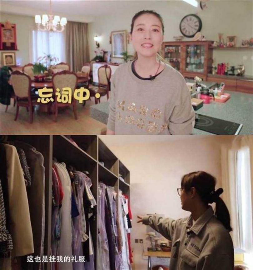 「不老女神」周海媚北京豪宅被爆價值4.3億台幣。(圖/西瓜視頻@周海媚)