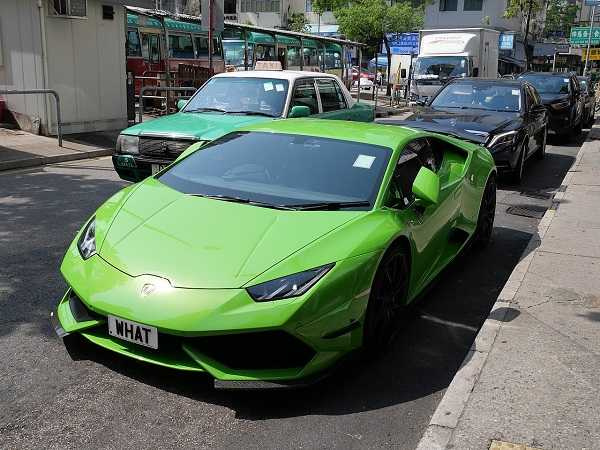 The man bought a Lamborghini for 8.7 million.  (Diagram/Retrieved from Wikipedia, CC BY-SA 4.0)