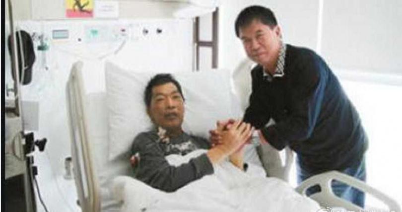 成奎安在2004年被診斷罹患鼻咽癌。(圖/微博)