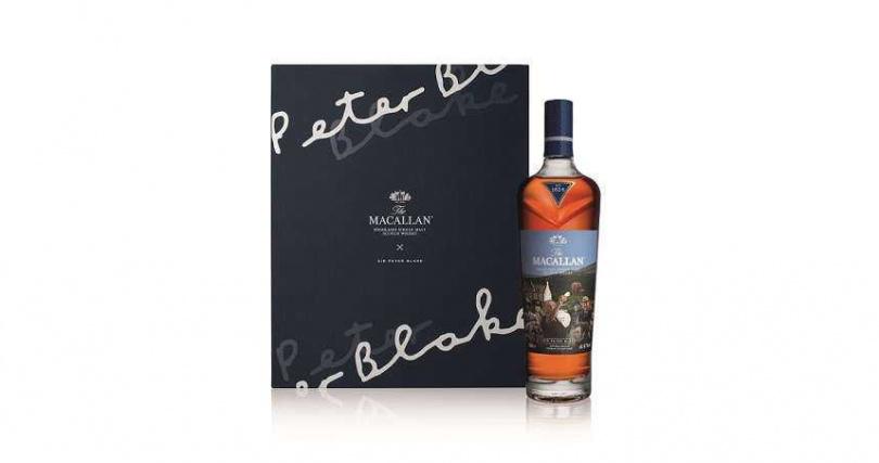 麥卡倫SIR PETER BLAKE限量版 單一麥芽威士忌。