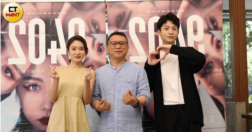李亦捷(左起)、湯昇榮和呂晉宇今出席媒體茶敘。(圖/焦正德攝)