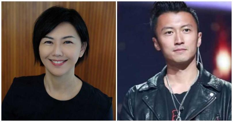 孫燕姿(左)本來就是新加坡人,謝霆鋒則宣布申請退掉加拿大國籍。(合成圖/百度)