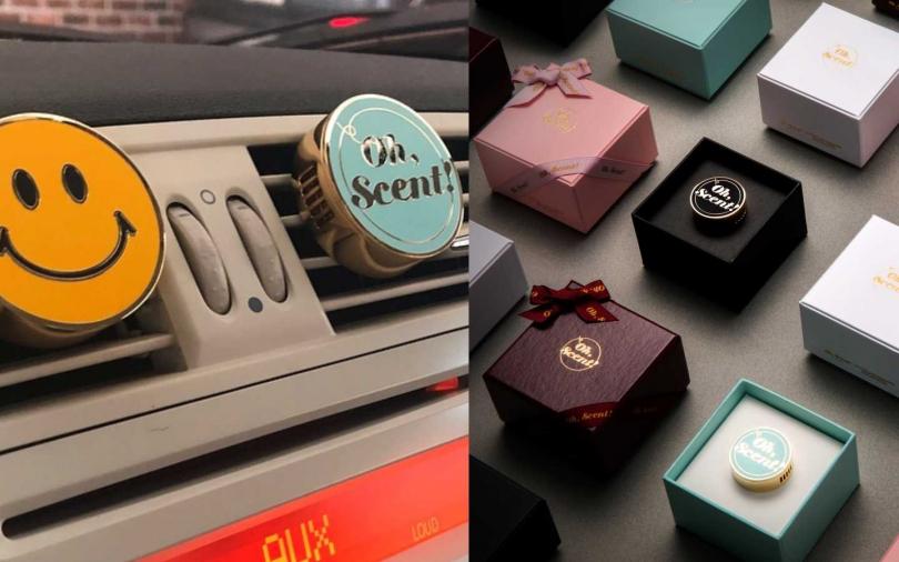 Oh, Scent!精緻車上香氛系列經典LOGO款/1,390元。(圖/品牌提供)