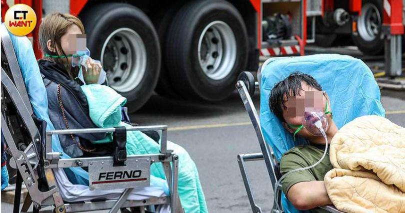 錢櫃大火造成5人慘死,5個家庭因此破碎,外界直指錢櫃草菅人命。(圖/鄭清元攝)