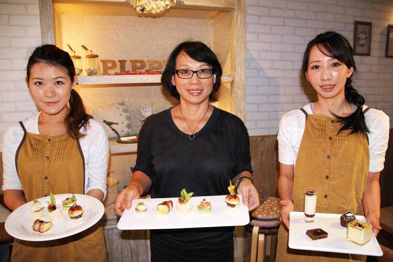 在黃美華提議下,儀大曾設置複合式餐飲,提升PIPPY品牌會員服務。圖為2015年間儀大開設的PIPPY CAFE'。(圖/報系資料庫)