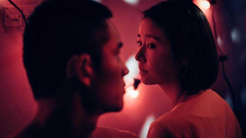林心如與陳澤耀在片中有著不可告人的關係。(圖/滿滿額娛樂提供)