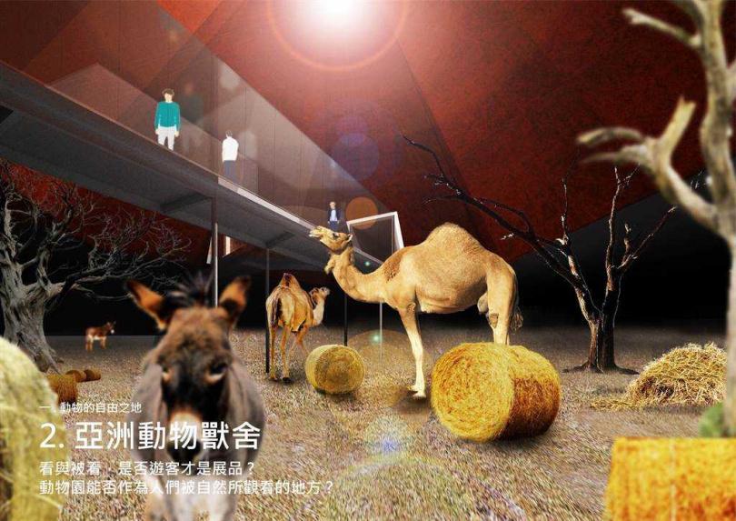 「亞洲動物獸舍」。(圖/高市觀光局提供)