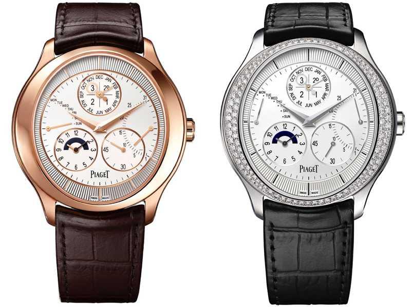 PIAGET「Gouverneur」萬年曆腕錶╱1,990,000元(圖片提供╱PIAGET)