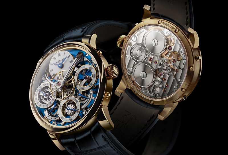 MB&F「Legacy Machine Perpetual」萬年曆腕錶╱5,380,000元(圖片提供╱MB&F)