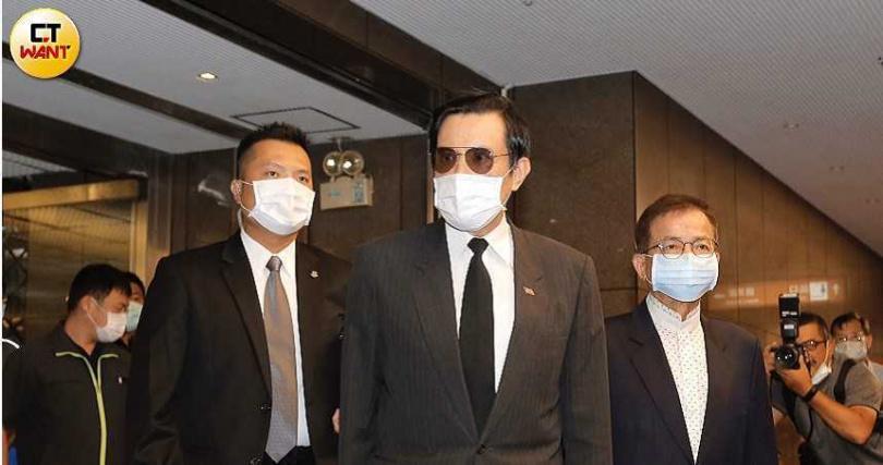 前總統馬英九。(圖/黃耀徵攝)