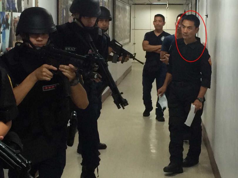 曾是特勤中隊的教官顏進明,因不敵病魔去世,警界親友聽到噩耗都相當震驚,紛紛在臉書上留言哀悼。(圖/高雄市警察局提供)