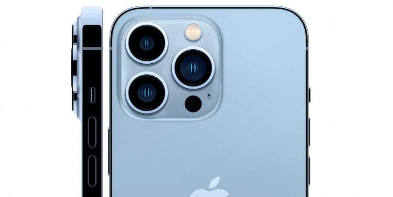 iPhone 13 Pro的相機具備3倍光學變焦能力,同時也支援微距攝影。(圖/翻攝自Apple)