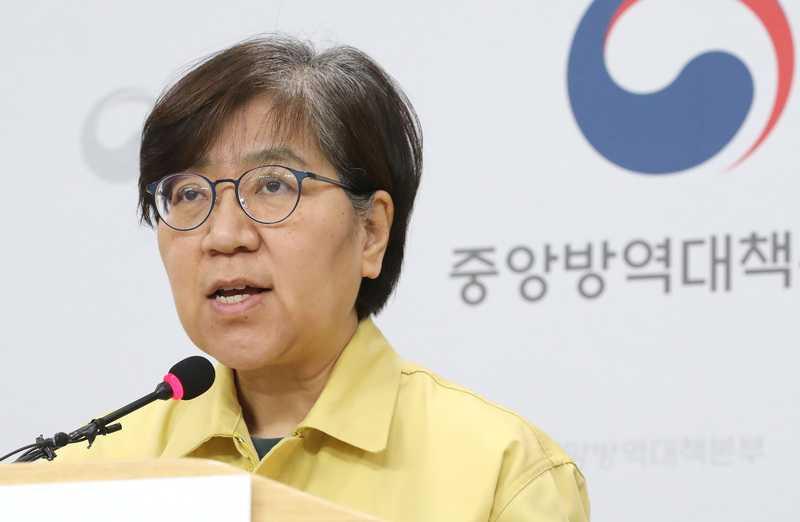 南韓疾病管理廳長鄭銀敬。(圖/翻攝自TBSeFM News)