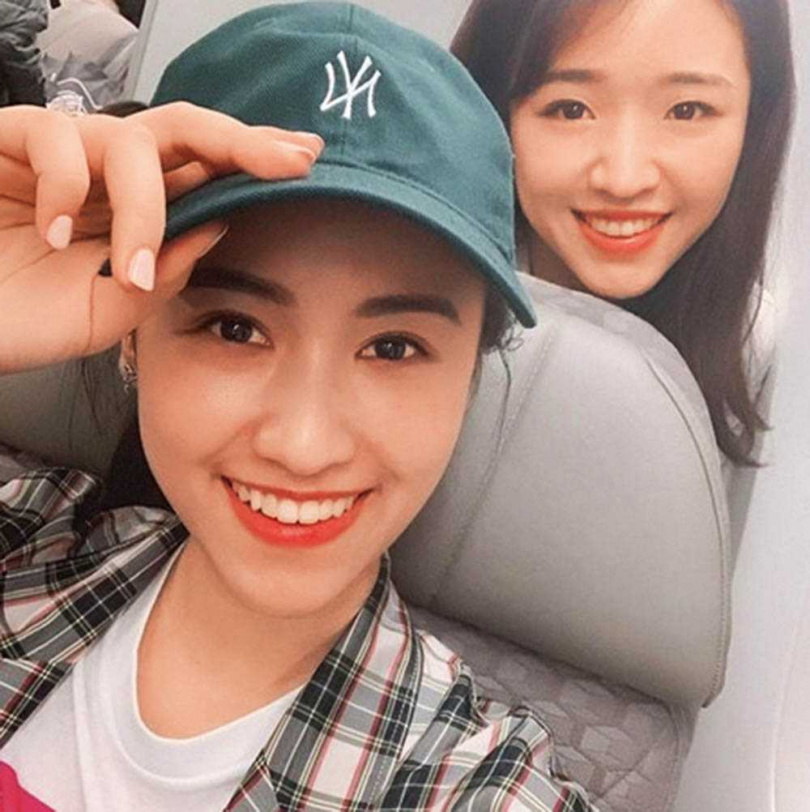 吳姍儒曾PO出與妹妹Vivian的合照,網友驚嘆姊妹倆都是美人。(圖/翻攝自吳姍儒IG)