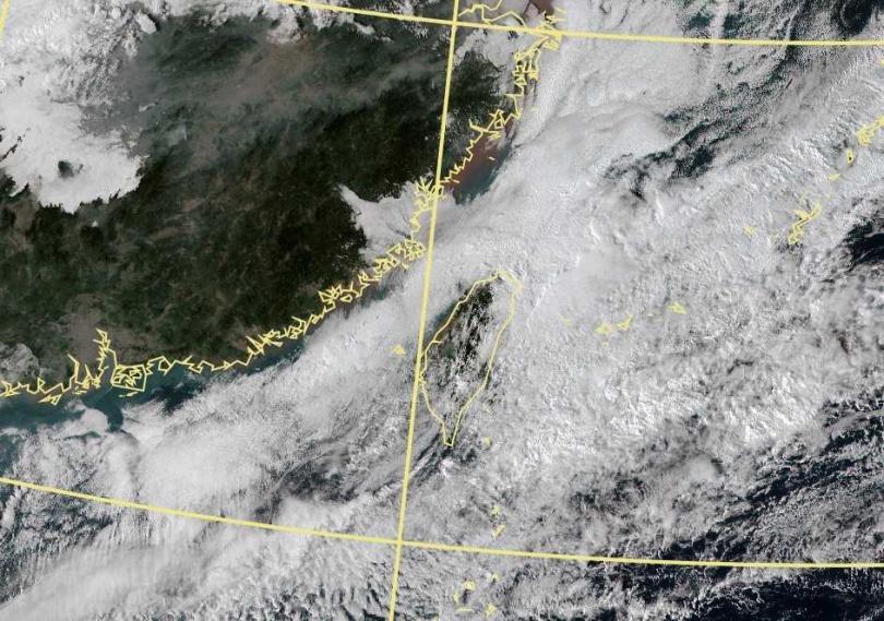 受東北季風影響,北台灣及花蓮整天偏涼,中南部及台東早晚也涼,中部以北及宜花低溫約17至20度。(圖/中央氣象局)