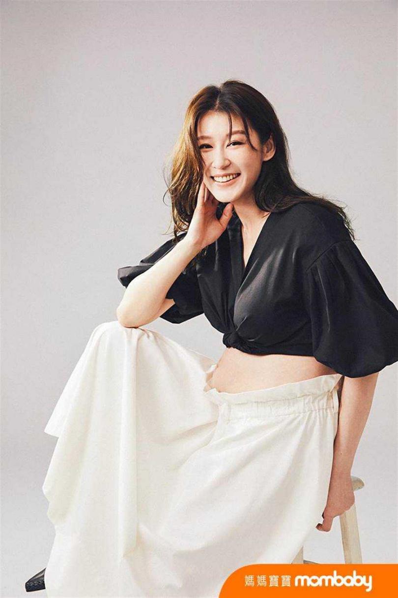 趙孟姿目前懷孕8個月,相當期待迎接寶寶到來。