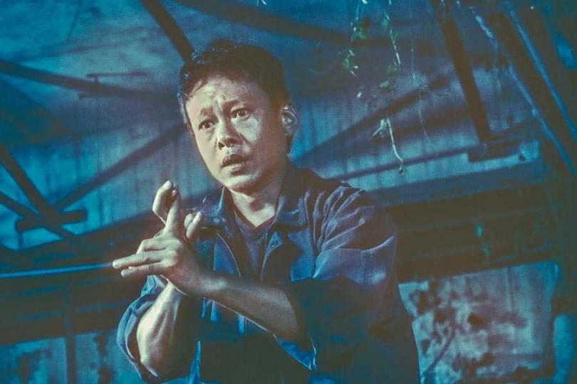 李康生在《馗降:粽邪2》中有大量動作戲。(圖/華影國際提供)