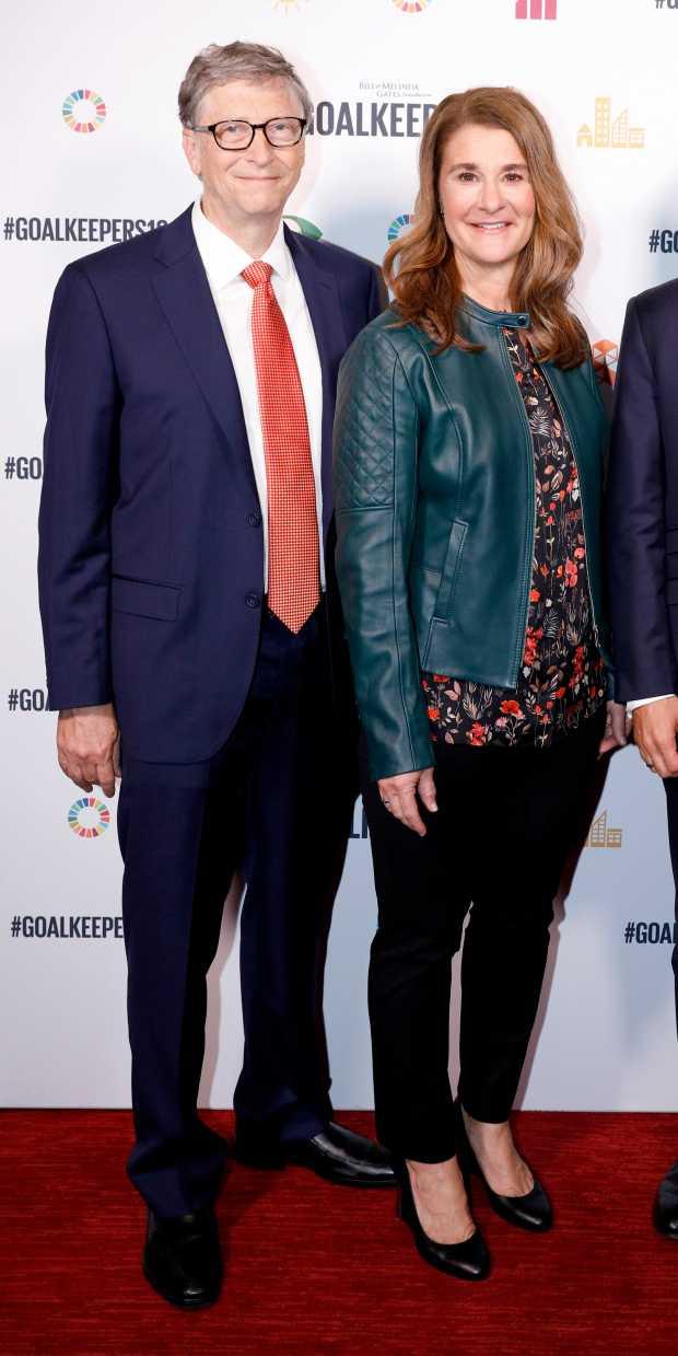 比爾蓋茲宣布與梅琳達離婚,震驚各界。(圖/Getty Images)